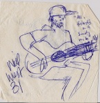 will west on napkin.