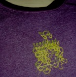 T-shirt with Screenprinted Seedhead.